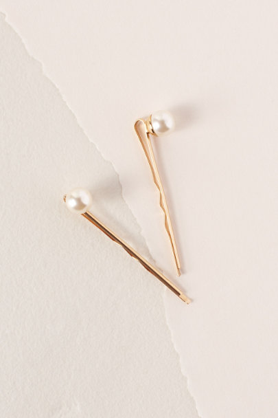 View larger image of Pearl Stud Hair Pins