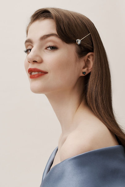 France Luxe Blue Solo Stud Hair Pin | BHLDN