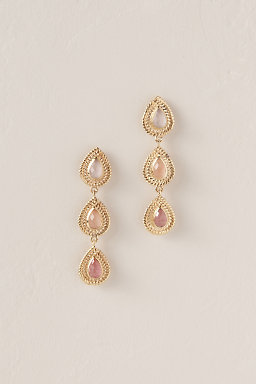 Pink Skies At Night Earrings