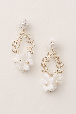 First Bloom Drop Earrings