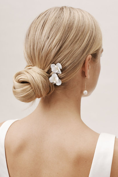 Jennifer Behr Silver Sallie Hair Pins | BHLDN