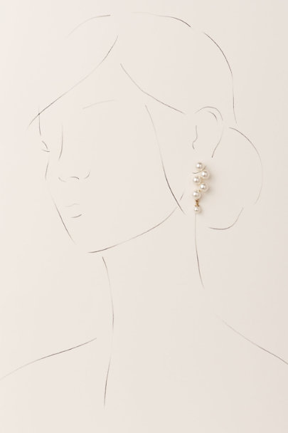 Jennifer Behr Gold Marcella Earrings | BHLDN