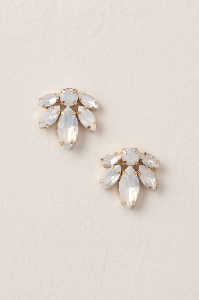 Brides & Hairpins Gold Opalescent Earrings | BHLDN