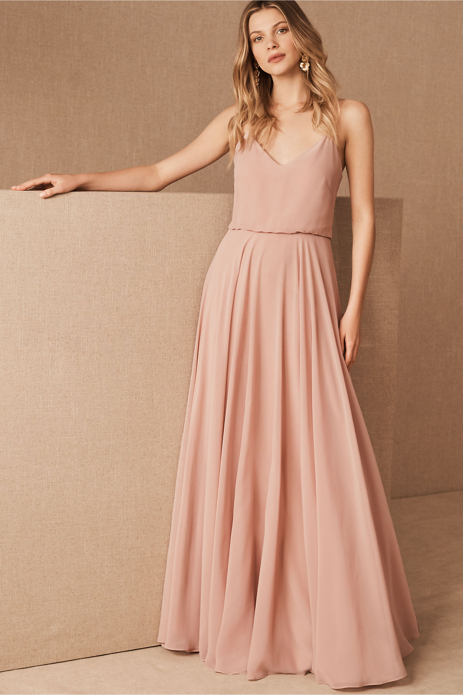 1c7a36ac074e Inesse Dress Whisper Blue in Bridesmaids & Bridal Party | BHLDN