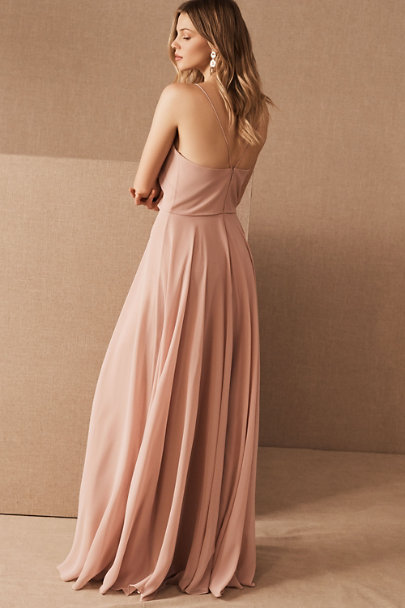 Jenny Yoo Whipped Apricot Inesse Dress | BHLDN