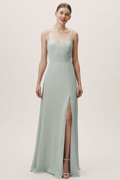 Jenny Yoo Morning Mist Kiara Dress | BHLDN