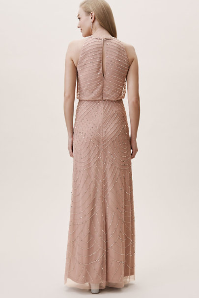 Adrianna Papell Whipped Apricot Madigan Dress | BHLDN