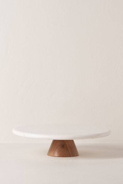 View larger image of Round Top Marble Cake Stand