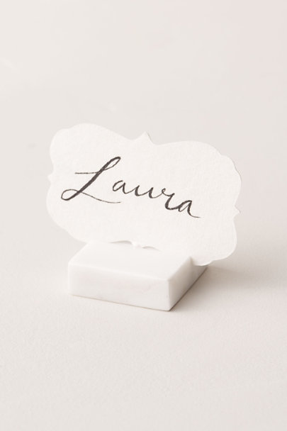 View larger image of Marble Place Card Holder