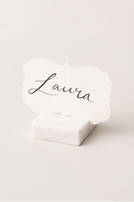 Marble Place Card Holder