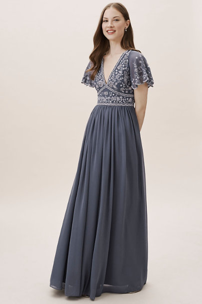 BHLDN Hydrangea Fresna Dress | BHLDN
