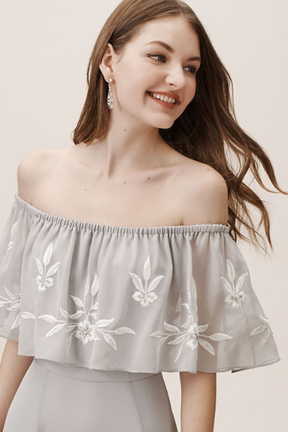 BHLDN Fog Brittany Dress | BHLDN