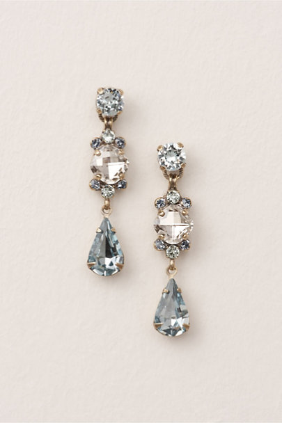 Sorrelli LT Blue Constanze Earrings | BHLDN