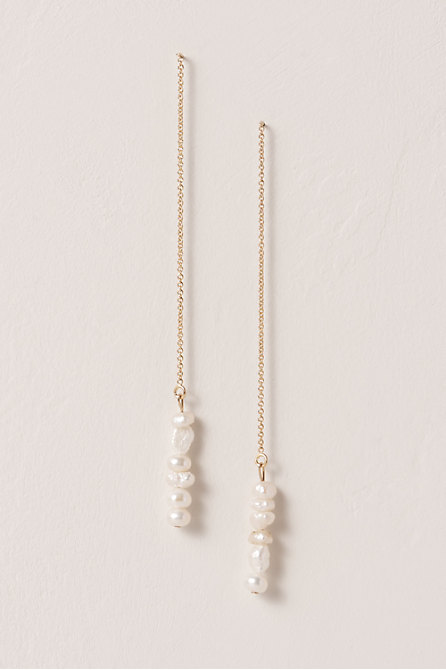Lu Pearl Drop Earrings