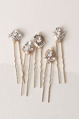 Flapper Hair Pins