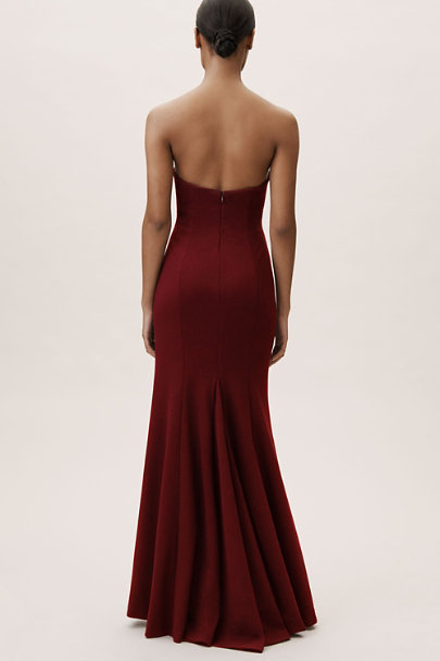 BHLDN Bordeaux Circe Dress | BHLDN