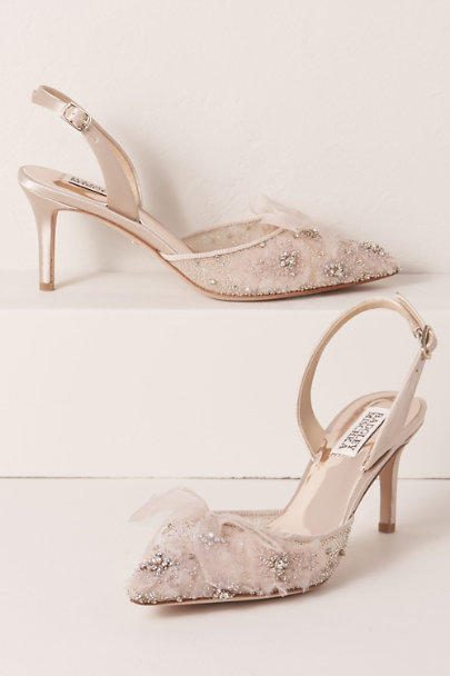 View larger image of Badgley Mischka Angeline Heels