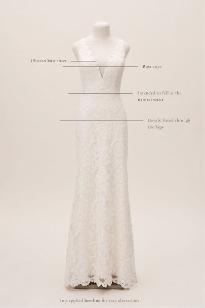 View larger image of Jenny Yoo Vanessa Gown