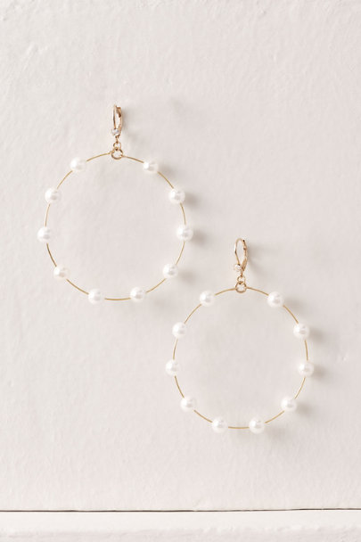 View larger image of Pearl Orbit Earrings