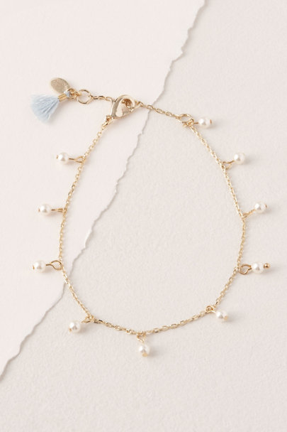 Shashi Gold Pretty In Pearls Bracelet | BHLDN
