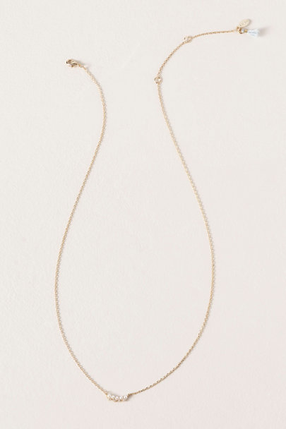 Shashi Gold Pretty In Pearls Necklace | BHLDN