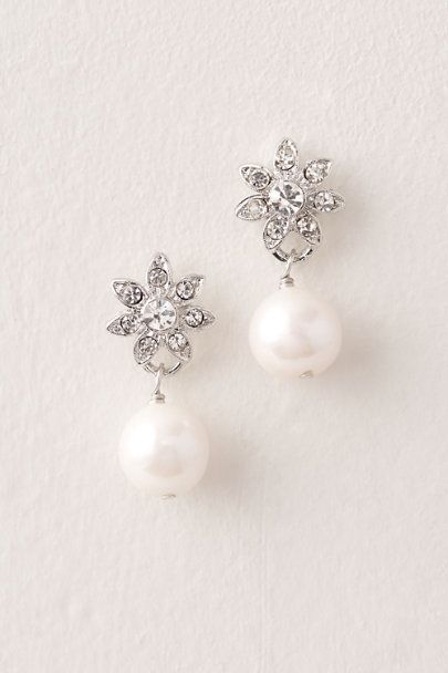 AV Max Silver Tennyson Earrings | BHLDN