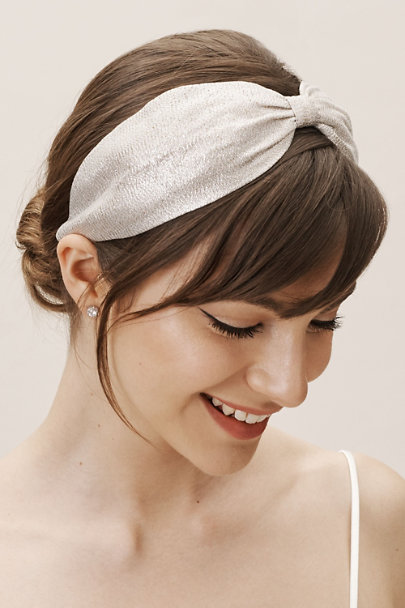 View larger image of Metallic Knot Headband