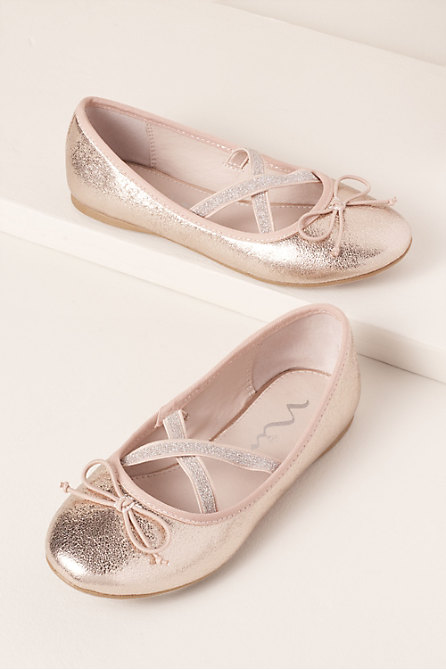 Gelsey Flower Girl Flats