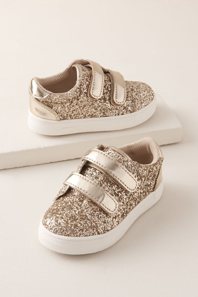View larger image of Gizella Flower Girl Sneakers