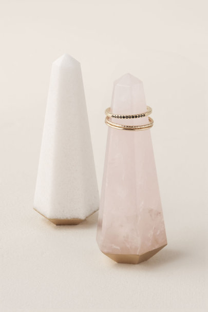 View larger image of White Quartz Ring Holder