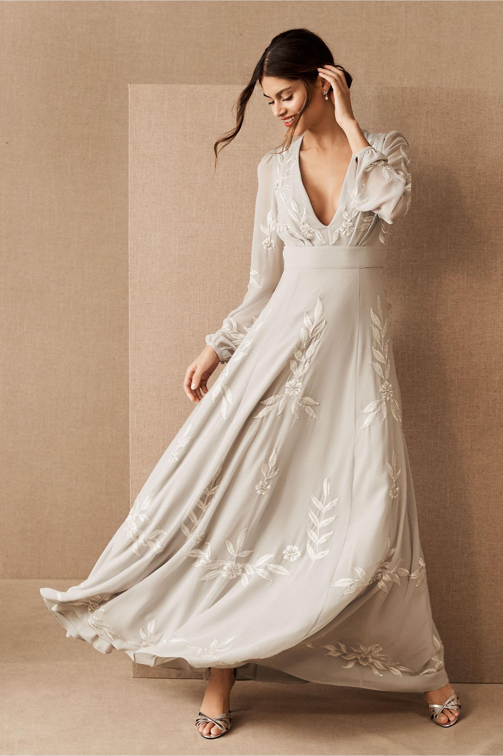 60s Wedding Dresses | 70s Wedding Dresses BHLDN Belize Dress $275.00 AT vintagedancer.com