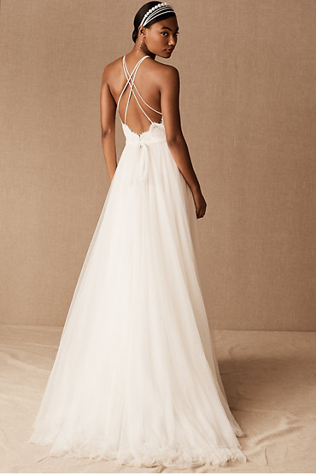 Wtoo by Watters Claremore Gown