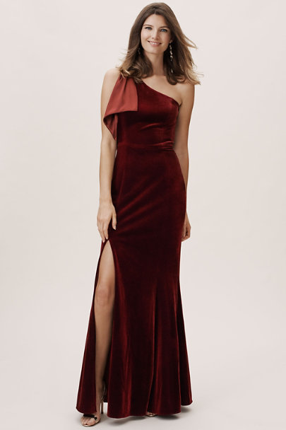 View larger image of BHLDN Britta Velvet Dress