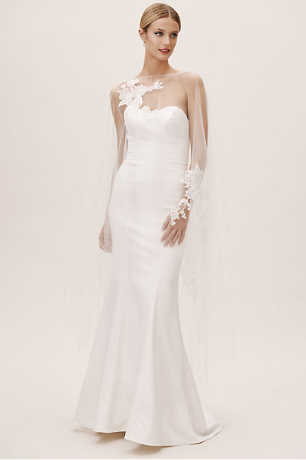 2cdd35fd82 Wedding Dress Toppers | Lace Wedding Tops - BHLDN