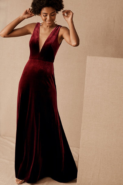 View larger image of Jenny Yoo Logan Velvet Dress