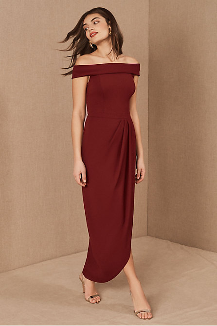 Thompson Off-the-Shoulder Dress