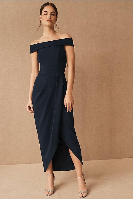 Thompson Off-the-Shoulder Dress