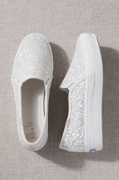 View larger image of Keds x Kate Spade Glitter Slip-ons