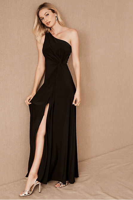 Brixen One-Shoulder Maxi Dress