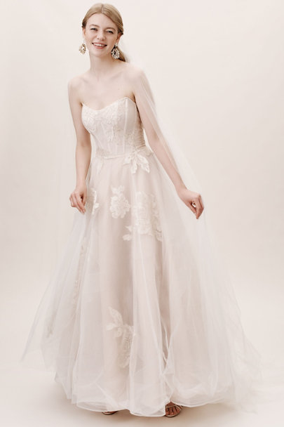 Vintage Inspired Wedding Dresses: 1920s-1960s Willowby by Watters Harmony Gown  AT vintagedancer.com
