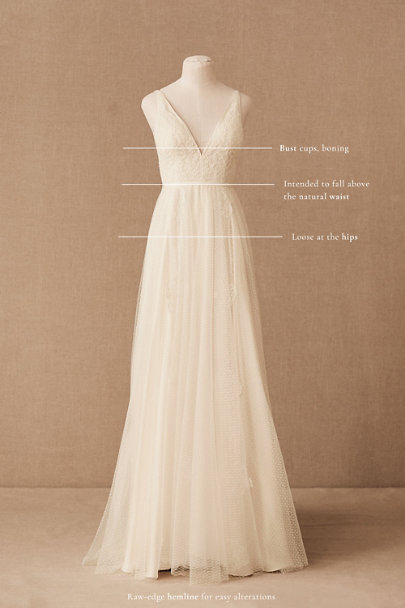 View larger image of Catherine Deane Nara Gown