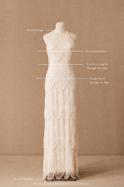View larger image of Catherine Deane Niki Gown