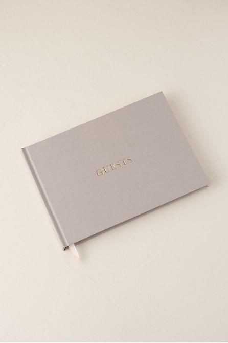 Linen Guest Book