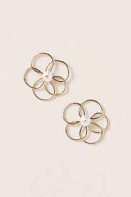 Floral Sketch Earrings.