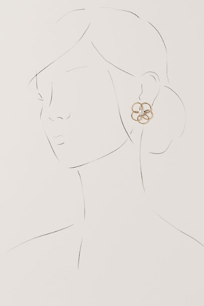 View larger image of Floral Sketch Earrings