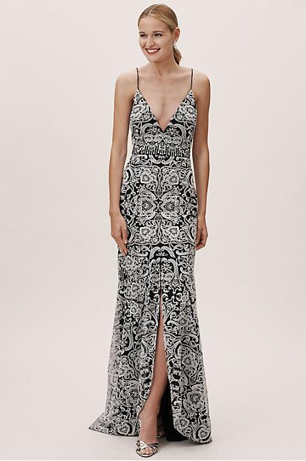 ML Monique Lhuillier Tindale Dress