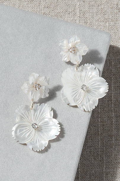 View larger image of Double Blossom Earrings