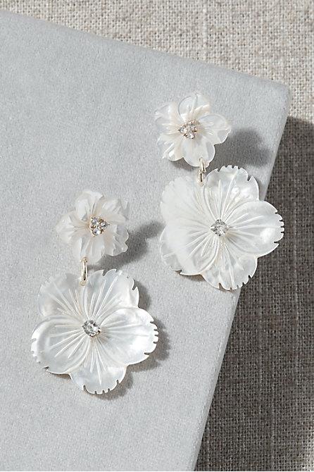 Double Blossom Earrings
