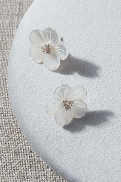 View larger image of Chere Flower Earrings