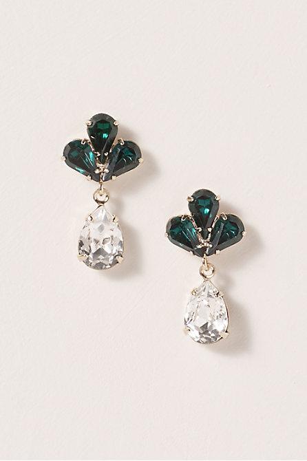 Calathea Drop Earrings